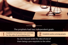 The prophets have had two independent goals...