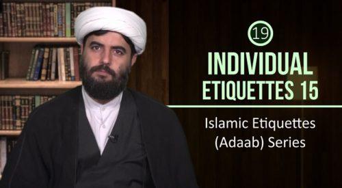 Individual Etiquettes