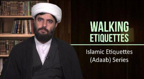 Walking Etiquettes