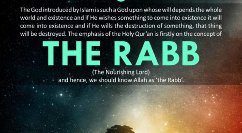 The Rabb (Ayatollah Misbah Yazdi)