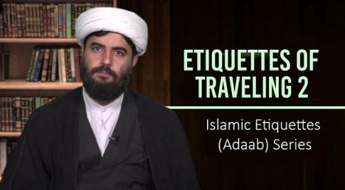 Etiquettes of Travelling