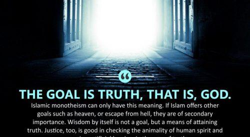 Goal is Truth (Ayatollah Murtada Mutahhari)