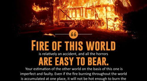Fire of this World Easy to Bear (Imam Khomeini)