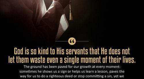 God is so Kind to his Servants