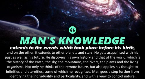 Man's Knowledge (Ayatollah Murtada Mutahhari)