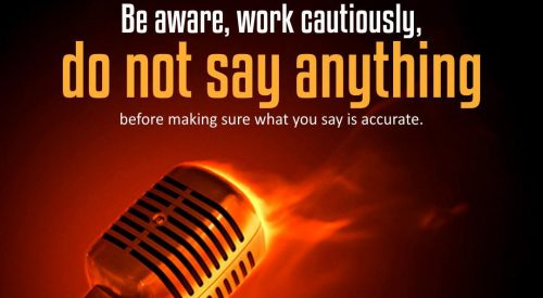 Be Aware, Work Cautiously (Ayatollah Taqi Bahjat)
