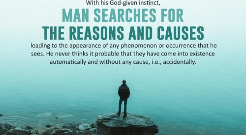 Man Searches for Reasons and Cause