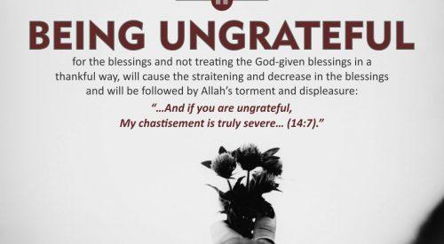 Being Ungrateful (Ayatollah Misbah Yazdi)