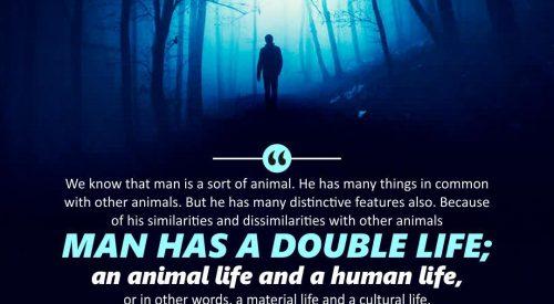 Man Has a Double Life (Ayatollah Murtada Mutahhari)