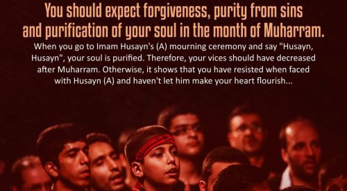 Purification of Soul in the Month of Muharram