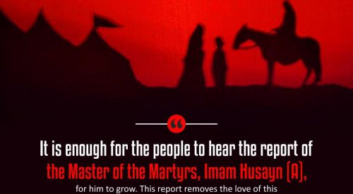 Master of the Martyrs Imam Husayn (A)