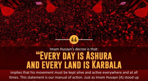 Every Day is Ashura and Every Land is Karbala
