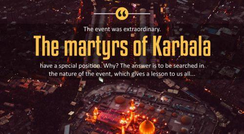 The Martyrs of Karbala (Imam Khomeini)