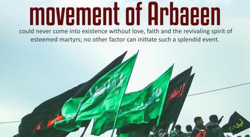 Movement of Arbaeen (Sayyid Ali Khamenei)