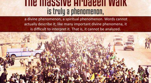 Massive Arbaeen Walk