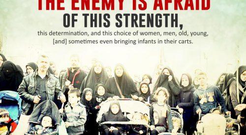 Enemy is Afraid of this Strength: Arbaeen Walk