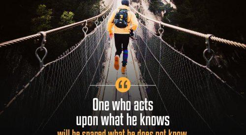 Act Upon What We Know (Ayatollah Taqi Bahjat)