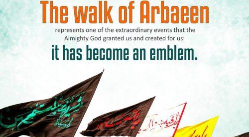 Walk of Arbaeen (Sayyid Ali Khamenei)