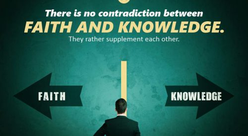 Contradiction Between Faith and Knowledge