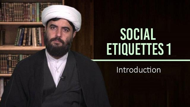 Social Etiquettes 1 | Introduction