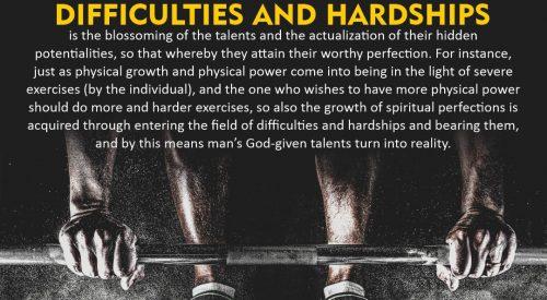 Difficulties and Hardships (Ayatollah Misbah Yazdi)