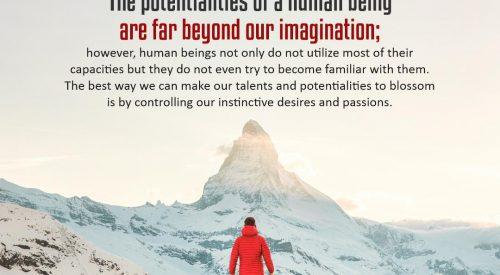 Potentialities of Human Being (Alireza Panahian)