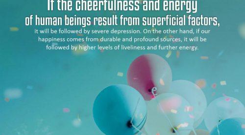 Cheerfulness and Energy of Human Being (Alireza Panahian)