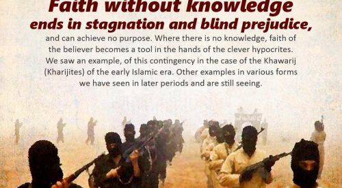 Faith Without Knowledge (Ayatollah Murtada Mutahhari)
