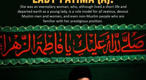 Lady Fatima (A) Role Model