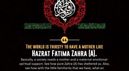Hazrat Fatima Zahra (A)