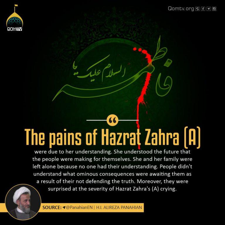 Pains of Hazrat Zahra (A)