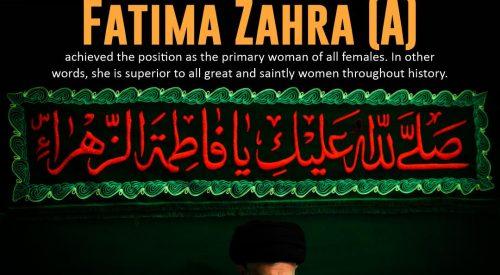 Fatima Zahra (A)