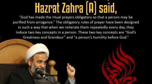 Hazrat Fatima (a) Sayings