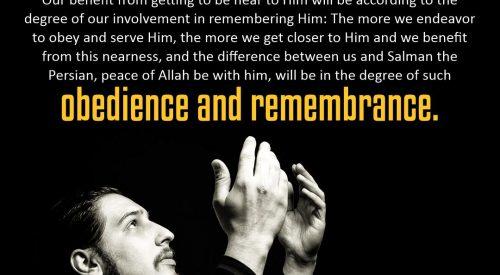Obedience and Remembrance (Ayatollah Taqi Bahjat)