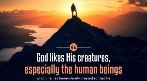 God Likes his Creatures (Alireza Panahian)