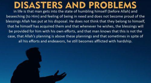 Disasters and Problems (Ayatollah Misbah Yazdi)