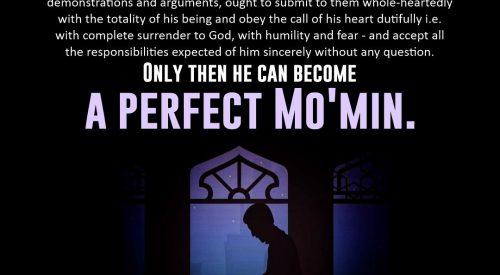 Perfect Momin (Imam Khomeini)