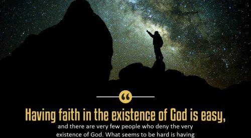 Faith in the Existence of God (Alireza Panahian)