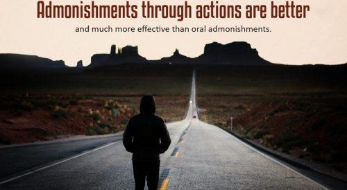 Admonishments through Actions are Better (Ayatollah Taqi Bahjat)