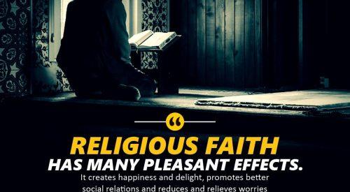 Religious Faith Pleasant Effects (Ayatollah Murtada Mutahhari)