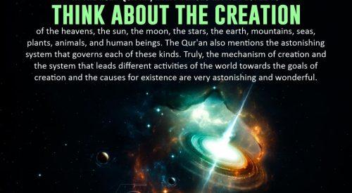 Think About the Creation (Allama Tabatabai)