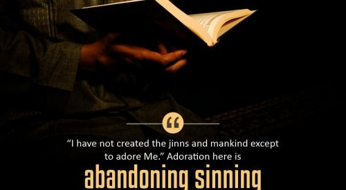 Abandon Sins in Belief and in Action (Ayatollah Taqi Bahjat)