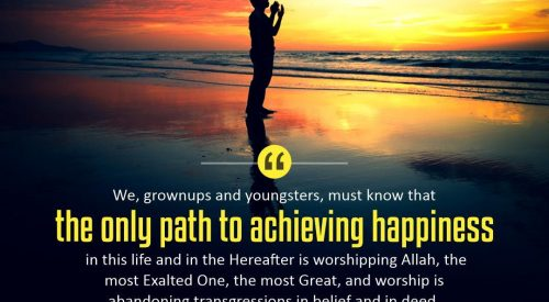 Only Path to Achieving Happiness (Ayatollah Taqi Bahjat)