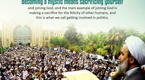 Sacrificing yourself (Alireza Panahian)