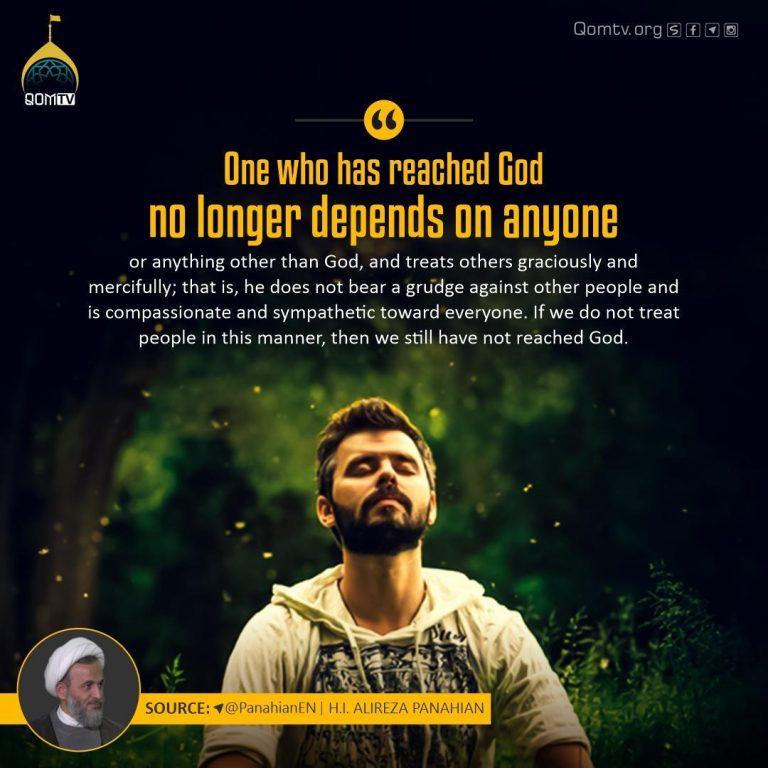 Reach to God (Alireza Panahian)