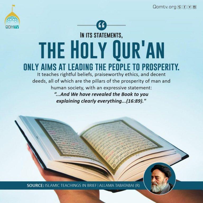 Holy Quran Aims