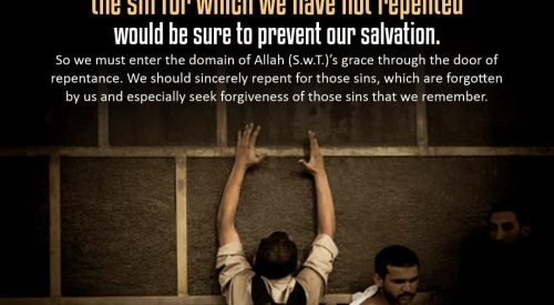 Sins Repented