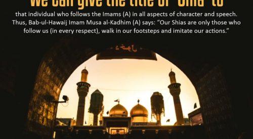 Qualities of Shia