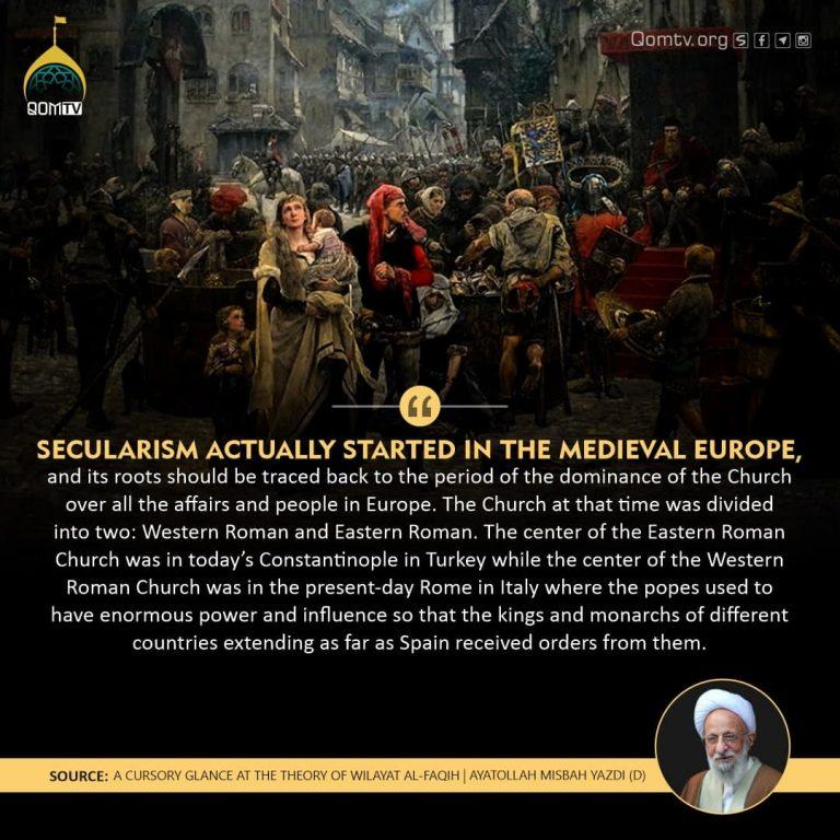secularism and Church (Ayatollah Misbah Yazdi)