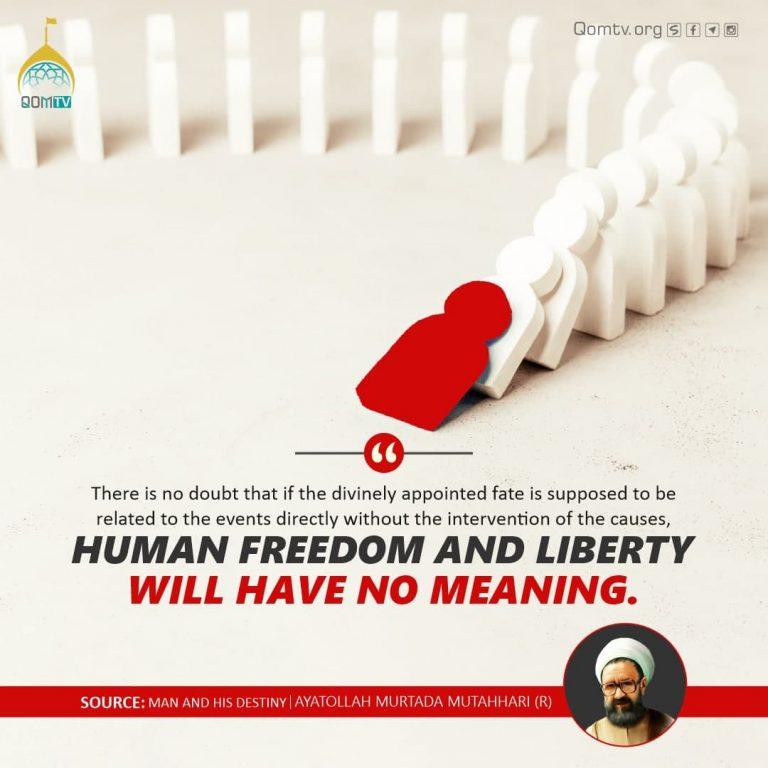 Human Freedom and Liberty (Murtada Mutahhari)